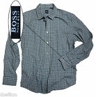 NWT Hugo Boss Black Label Cotton Flannel Check Shirt Sz L & XL