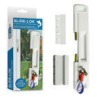 CAL Slide-Lok - Sliding Patio Door Lock for Single Doors with 2 Keeps included