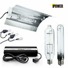 iPower 250w 400w 600w 1000w watt HPS MH Grow Light System Kit Dimm Green House