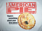 American Pie T-Shirt Movie Tee 90's DVD Novelty Classic Your First Piece Apple  image