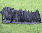 Wholesale New SWAN SHOULDER FEATHERS dyeing Black color for Craft Supplies Pick