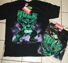 The  Incredible Hulk Mens T-Shirt 100% Authentic Marvel Comics w/tags S- 2X