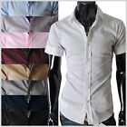 (STS) THELEES Unique Mens casual slim fit basic dress Fashionable shirts