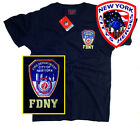 FDNY T-Shirt Officially Licensed by The New York City Fire Department