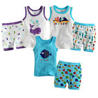 "NWT Vaenait Baby & Toddler Boy Girl Sleeveless Pyjama Set ""Sea World Sleeveless"""