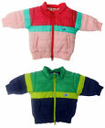 Adidas Originals Infant Padded All Season Jacket Pink/Green Sies 12-18M -2-3Y