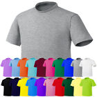 ililily New Mens Casual Crew-Neck Simple T-shirts Unisex Basic Tee Shirts 009