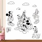 Mickey Minnie Mouse Pluto Donald Wall Sticker Vinyl Children Art Decal CH25