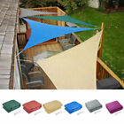 11.5' Triangle Sun Shade Sail Outdoor Yard Garden Patio Top Cover 4 Color Option