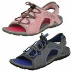 SALE Kids Girls/Boys Hi Tec sandals TURTLEBEACH available in pink or Blue/grey