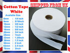 Beige white Cotton  Bunting Apron tape Herringbone twill webbing  sewing strap