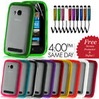 SOLID HYBRID GEL HARD BACK CASE COVER FITS LUMIA 710 FREE SCREEN PROTECTOR