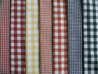 38X38CM SIZE COTTON HANDKERCHIEF - GINGHAM CHECK RANGE - HAND FINISHED QUALITY