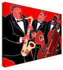 Pictures of Jazz Band Canvas Wall Art Print Large + Any Size