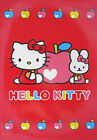 Sanrio Hello Kitty Heart Apple or Flower Power Lined Notebook with Stickers