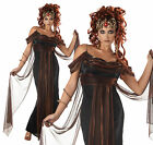 LADIES ADULT MEDUSA THE MYTHICAL SIREN FANCY DRESS COSTUME GREEK GODDESS OUTFIT