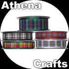 Berisfords Tartan Ribbon - Multi Choice Listing - Scotland / Scottish