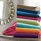 1000 TC Organic Cotton Solid 4 pc Superior Sheet Set Select Your Desired Size   image