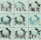 Womens Girls Jewellery Charm Bracelet Birthday Christmas Gifts Choice of Colours