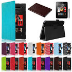 Leather Smart Case Cover Stand for New Amazon Kindle Fire HD with Sleep Wake