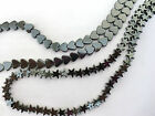 10/20/30/40pcs Delicated Polished Hematite Heart & Stars Beads Pls Choose