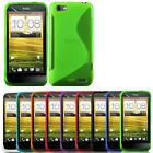 Thin Gel S Line TPU Silicone Back Case Cover Skin for HTC One S