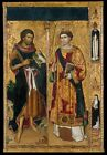 Photo Print Reproduction Saint John Baptist & Saint Stephen Master Of Sain