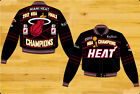 Miami Heat 2012 NBA Finals Champions Mens Cotton Twill Jacket by JH Design