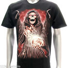r119 M L XL XXL XXXL Rock Eagle T-shirt Tattoo Glow in Dark Skull Ghost Magic