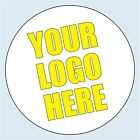 Personalised Business Logo Stickers. 4 sizes. Add your company logo