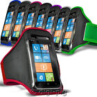 SPORTS ARMBAND STRAP POUCH CASE FOR VARIOUS SAMSUNG PHONES