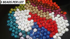 10mm Crystal Clay Pave Disco Ball Round Beads for Shamballa Bracelet UK  SELLER