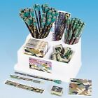 Camouflage Stationary Set Army Hunting Soldier Back to School Military Pencils
