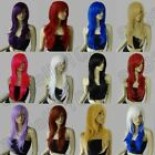 Synthetic hair heat resistant 28in. long 70cm big wavy cosplay wig Free Shipping