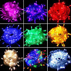 300 LED 30M String Fairy Lights Clear Cable for Christmas Xmas Tree Party Garden