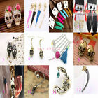 New Wholesale Fashion Jewelry Party Punk Skull Gothic Vampire Sharp MIX Earrings