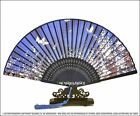 *100% NEWEST STUNNING & EXQUISITE SILK FOLDING HANDFAN* RARE NEW LIMITED EDITION