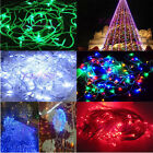 10M 100LED String Fairy Lights christmas wedding Party Xmas Garden New IN 5Color