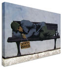 Do Not Disturb - New Banksy 2013 Wall Art Interiors Canvas Picture Print