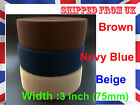 3 inch 75 mm wide waist stretch waistband elastic for belt craft sewing towel
