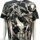 r41 Rock Eagle T-shirt SPECIAL Tattoo Skull Dragon RYU Metal dgk Castle Mother