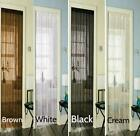 "ART DECO WHITE BLACK CREAM BROWN STRING DOOR CURTAIN 90 X 200CM (78"" X35"") NEW"