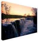Large Picture Waterfall Grunge Morning Canvas Art Cheap Print
