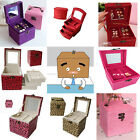 Free shipping-New Fashion Cosmetic Storage Display Gift Case Jewellery Boxes