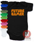 Naughtees Clothing Future Gamer Cute Gaming Babygrow Pure Cotton Baby Suit New