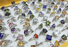 New Lots Fashion Mixed Colors Styles Cubic Zirconia Rings