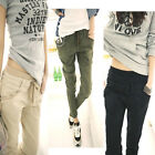 NEW BASIC  Women wild stretch Slim feet harem Pants free shipping