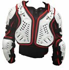 Childrens Sports Body Armour Protective Jacket With Back Protector - Kids Childs