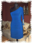 Kleid Tunika Sexy One Shoulder Edel Party Dress Nieten Gr.S/M  M/L  36/38  40/42