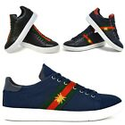Mens New Casual Black Faux Leather Smart Formal Festival Shoes Designer Quality